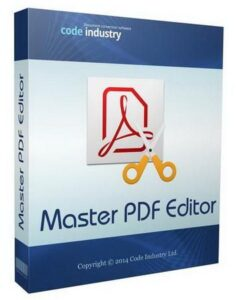 Master PDF Editor 5.6.20 Crack With Registration Code Free Download