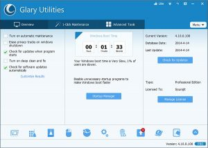 Glary Utilities Pro 5.149.0.175 Crack + Keygen 2021 Torrent Download