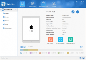 Syncios 6.7.2 Crack With Ultimate Registration Code Free 2020