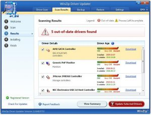WinZip Driver Updater 5.33.3.2 With Crack [Latest 2020] Free Download