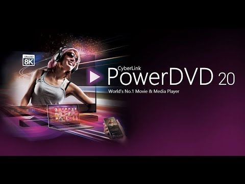 CyberLink PowerDVD Ultra 20.0.2025.62 With Crack Full Version